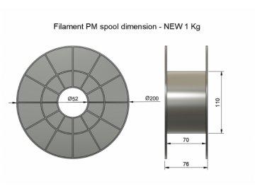 Plasty Mladeč 0017 PLA černá