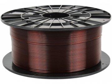 3D tisková struna Filament PM PETG transparentní hnědá
