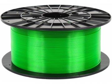 3D tisková struna Filament PM PETG transparentní zelená