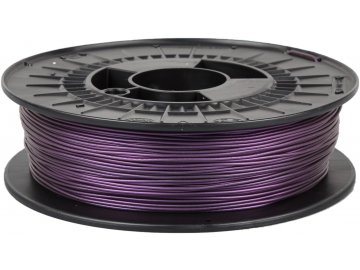 3D tisková struna TPE 88 RubberJet Flex metalická fialová