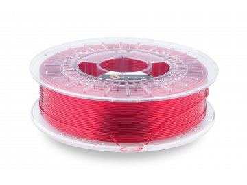 3D tisková struna CPE HG100 Red Hood Transparent