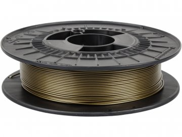 3D tisková struna Filament PM PETG žabí zlato