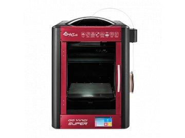 3D printer XYZ da Vinci Super (ABS, PLA, Nylon, PC, PETG, TPE, PVA, 30x30x30cm, 50 400 microns, USB 2.0, WIFI)