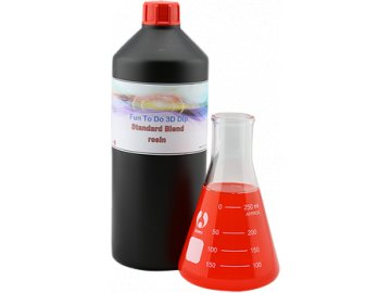 Funtodo Standard Blend RED - DLP Resin 1l