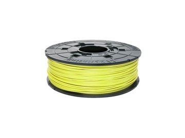 739 da vinci abs neon yellow 3d filament cartridge 600gr