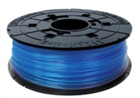 da Vinci Junior PLA 3D Filament Cartridge Clear Blue 600gr