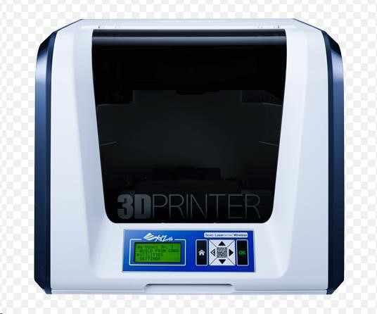 XYZ da Vinci Junior 3v1 (Single extruder, PLA, WIFI)