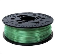 XYZ da Vinci PLA Filament Cartridge Clear Green 600gr