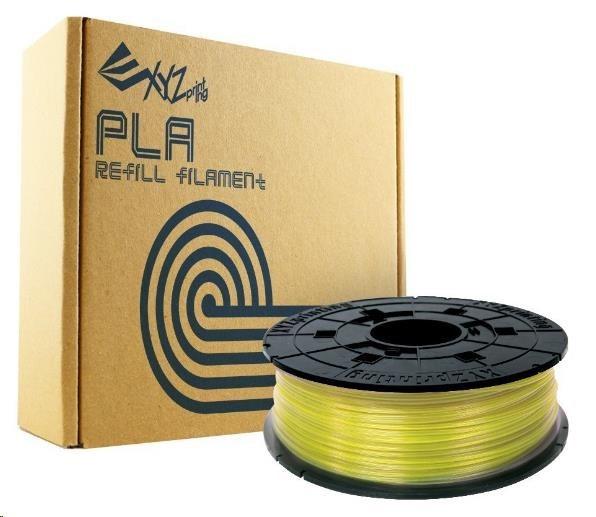 XYZ da Vinci PLA Clear Yellow náhradní filament 600 g