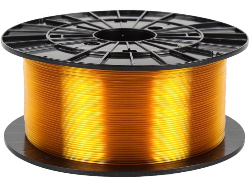 Plasty Mladeč PETG transparentní žlutá 1.75 mm, 1 kg