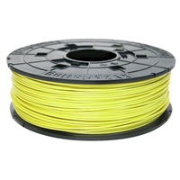 XYZ da Vinci 600gr NEON YELLOW ABS 3D Filament Cartridge