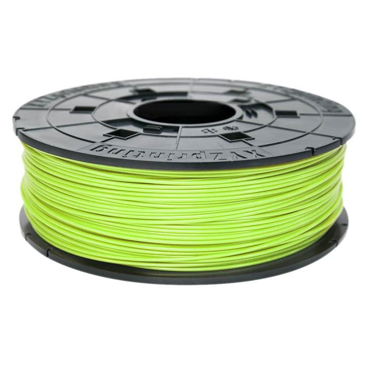 XYZ da Vinci Junior PLA Neon Green 3D Filament náhradní náplň 600 g