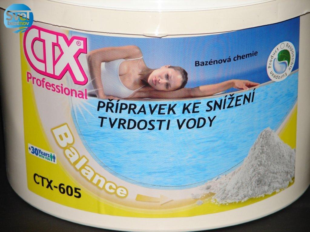 Astralpool, CTX 605, zníženie tvrdosti vody 5kg