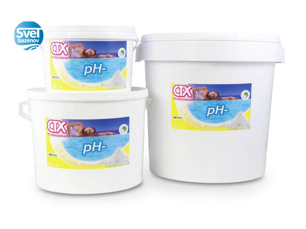 ASTRALPOOL CTX 10 granulát pH- 7 kg