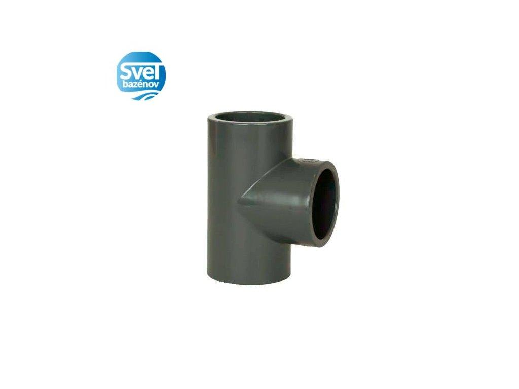 PVC tvarovka - T-kus 90° 50 mm
