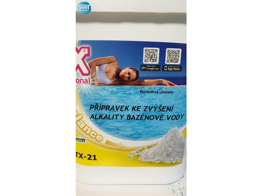 ASTRALPOOL CTX 21 přípravek zvyšující alkalitu vody 6 kg  ASTRALPOOL CTX 21 přípravek zvyšující alkalitu vody 6 kg