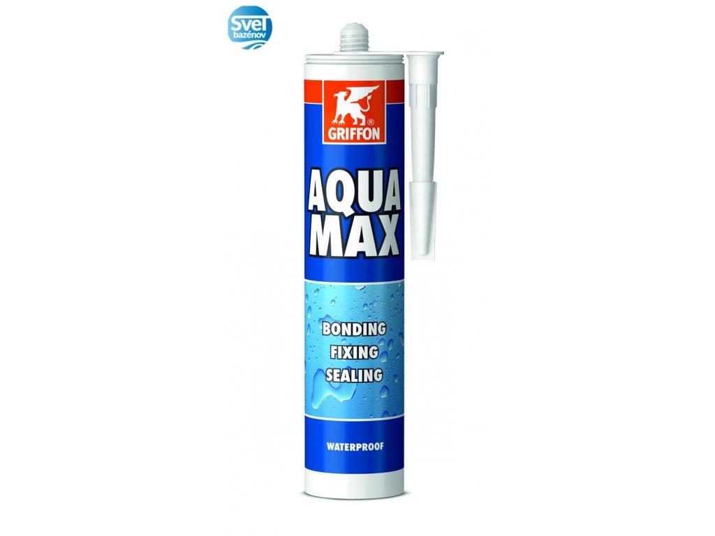 AQUA MAX Lepidlo pod vodu 415g biele  AQUA MAX Lepidlo pod vodu 415g biele