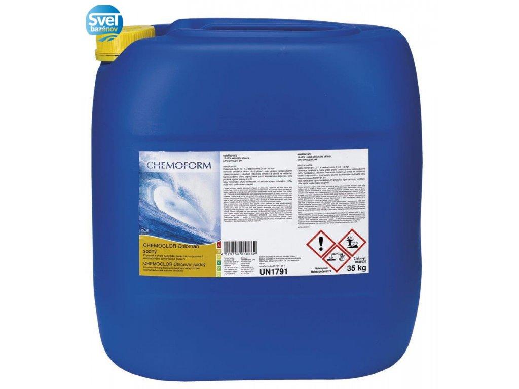 CHEMOFORM Chlornan sodný 24 l