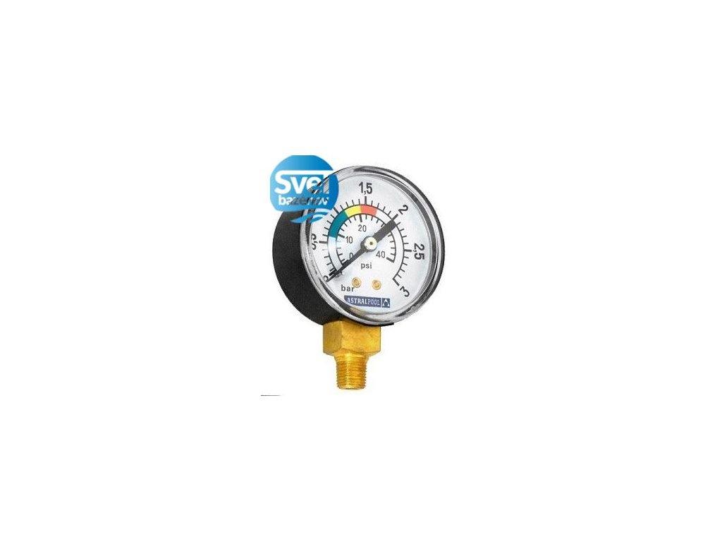 Manometer Astralpool - bočný