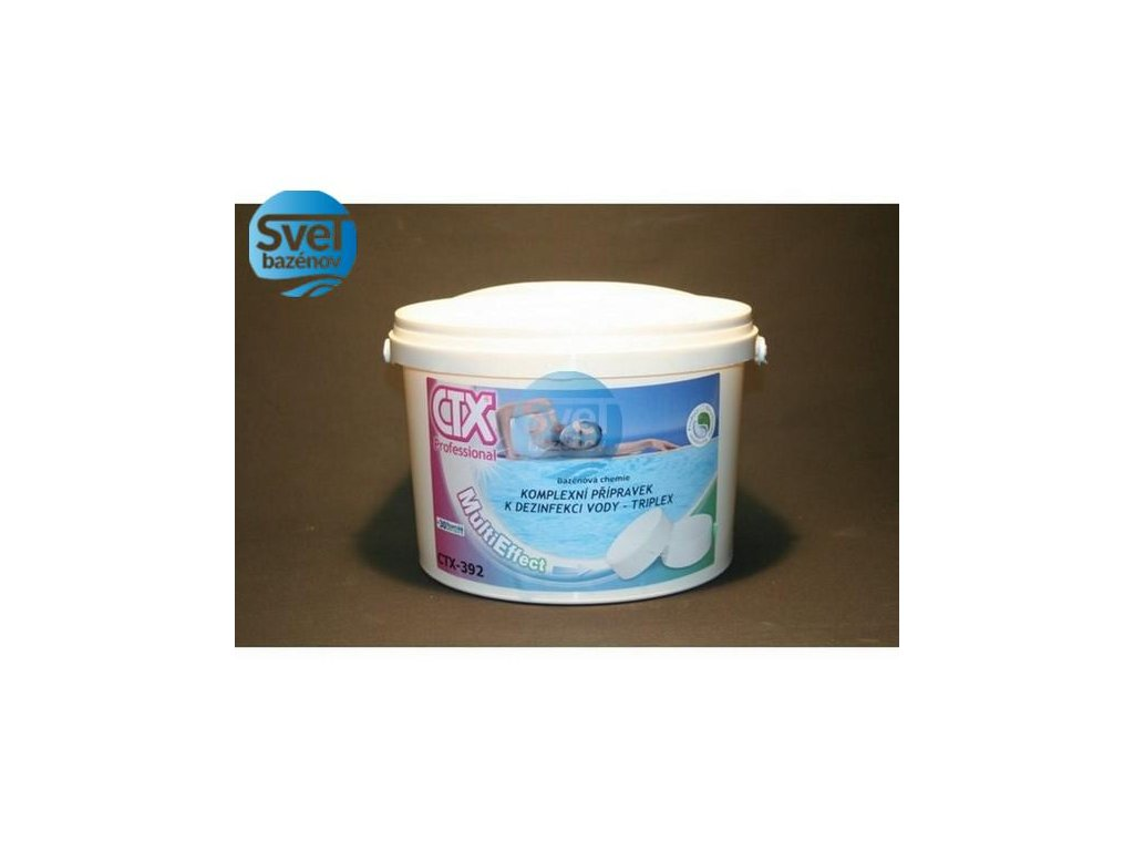 ASTRALPOOL CTX 392 TRIPLEX 200g Multifunkčné Tablety 1 kg  Multifunčné tablety
