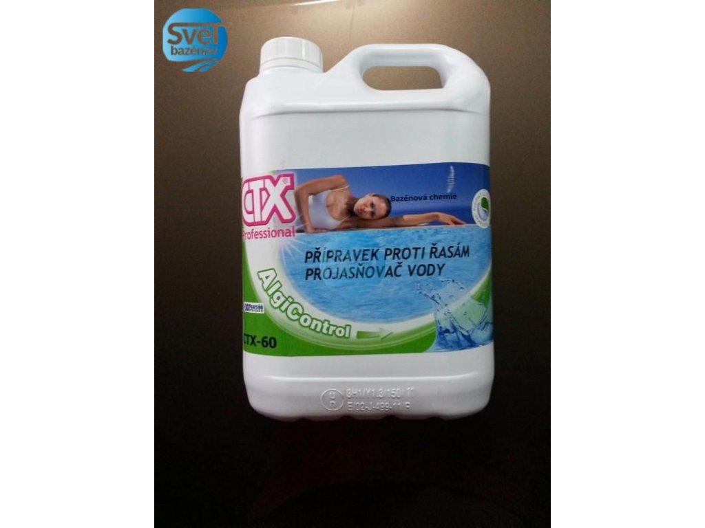 Astralpool CTX 60 algicid, prejasňovač, 5l