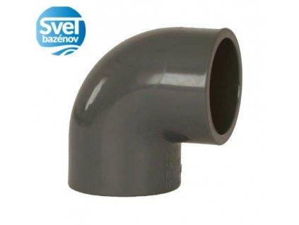 PVC Tvarovka 90° 50mm