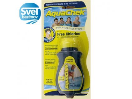 Aquachek 3v1 - tester na vodu