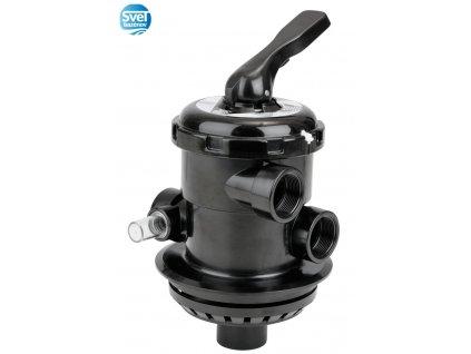 Astralpool Bajonetový ovládací šesťcestný ventil TOP 1 1/2  Bajonetový ovládací ventil TOP 1 1/2