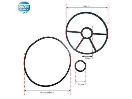 tesnenie na 6-cestný ventil TOP - Cantabric (20565)  tesnenie na 6-cestný ventil TOP - Cantabric (20565)