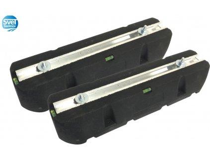 Gumená podlahová konzola - 400 mm  Set silent blokových podstavcov pod tepelné čerpadlo - 400mm (2ks)