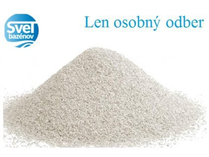 Filtračný piesok 25kg 0,6-1,2mm
