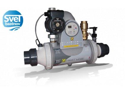 Tepelný výmenník Titan PSA HeatLine 20 kW, vrátane digitálneho ovládania