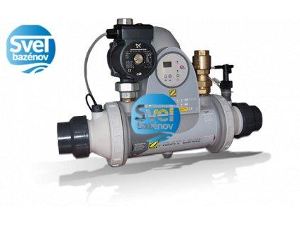 Tepelný výmenník Titan PSA HeatLine 40 kW, vrátane digitálneho ovládania