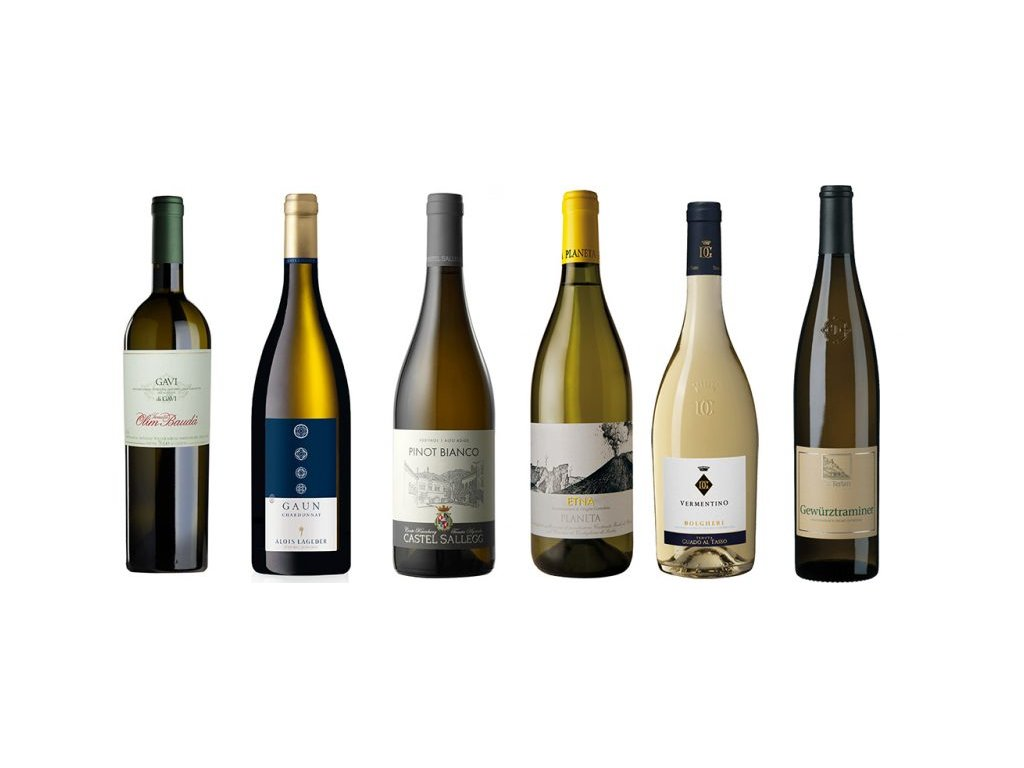 Premium bílá vína