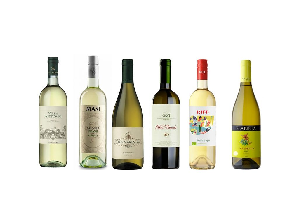 Selection bílá vína