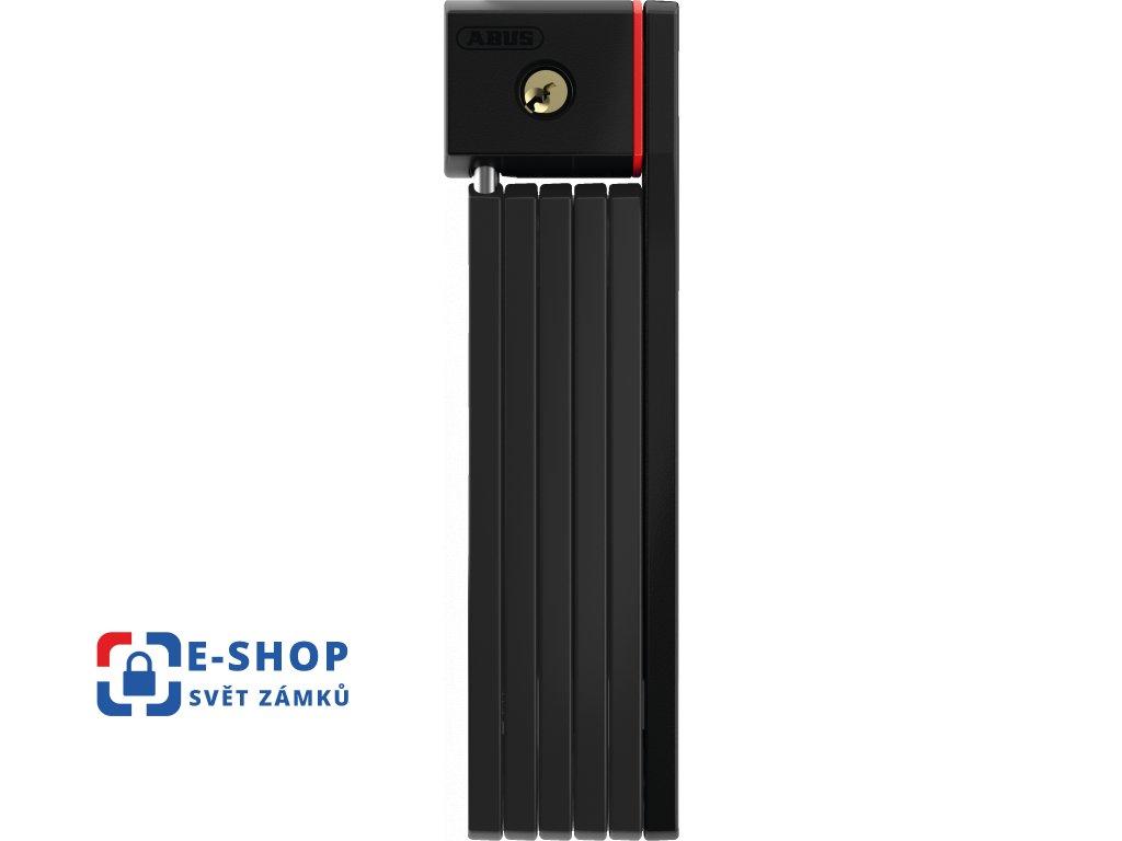 Zámek na kolo ABUS 5700/80 black uGrip Bordo