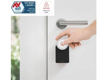 Elektronický zámek Nuki Smart Lock 2.0 + Bridge + dveřní snímač - Combo