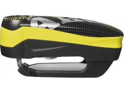 Zámek na brzdový kotouč ABUS Detecto 7000 RS1 Pixel yellow