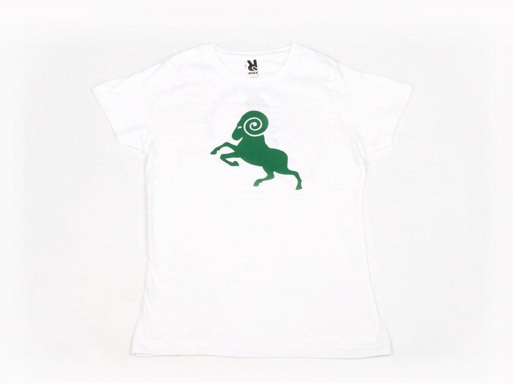 Staré tričko bílé