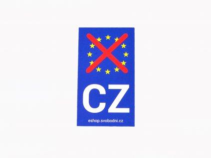 Přelepka EU na RZ