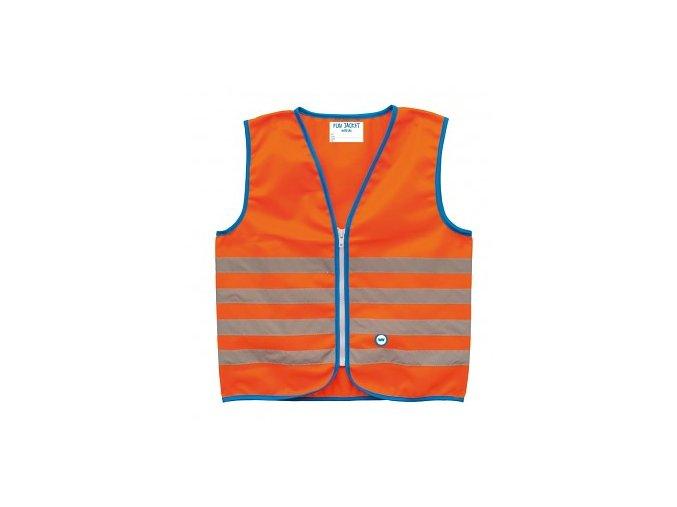Bezpečnostní dětská vesta WOWOW FUN JACKET Orange