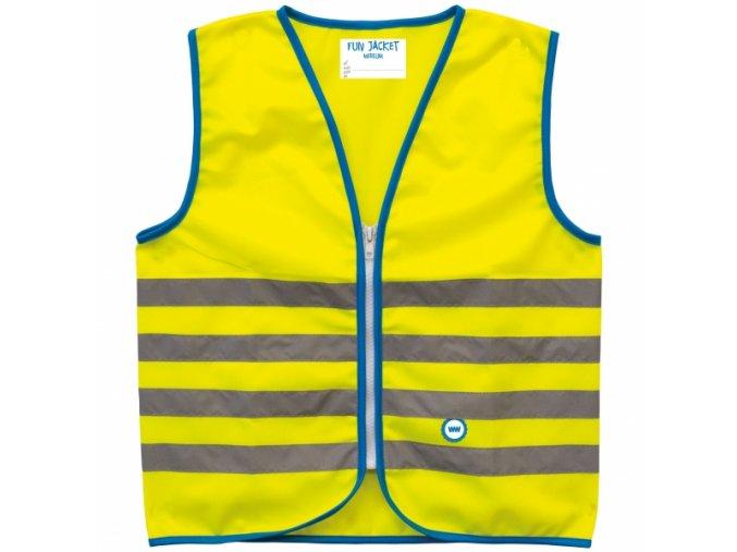 Bezpečnostní dětská vesta WOWOW FUN JACKET Yellow
