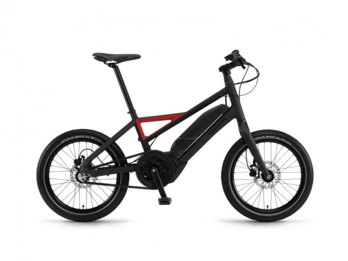 4854 x bicicleta electrica winora radius plain 2016 rosu