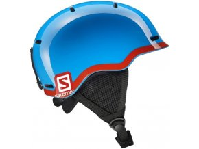 SALOMON GROM FLUO blue/red
