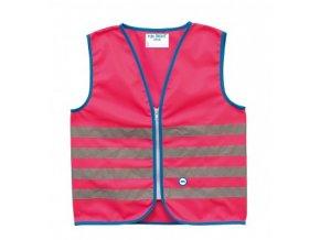 Bezpečnostní dětská vesta WOWOW FUN JACKET Pink