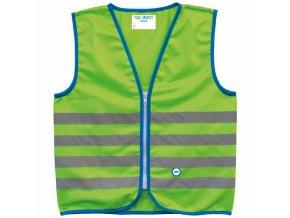 Bezpečnostní dětská vesta WOWOW FUN JACKET Green
