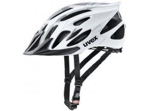 Uvex FLASH WHITE BLACK