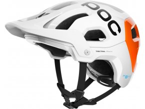 POC Tectal Race Spin NFC hydrogen white/fluorescent orange 2021