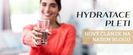 hydratace pleti, hydratace organismu, příznaky dehydratace, přírodní hydratace pleti, jak hydratovat pleť, jak předcházet dehydrataci