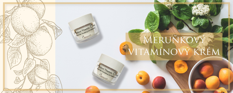 Meruňkový vitamínový krém Banner